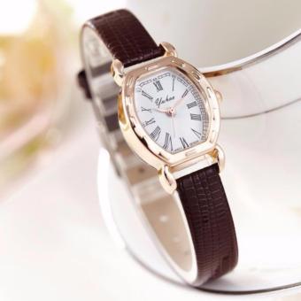 Đồng hồ nữ dây da cao cấp yuhao SL9092SL