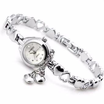 Đồng hồ nữ thời trang KIMIO K018 - Trắng
