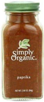 Bột ớt cựa gà sạch Simply Organic 84g