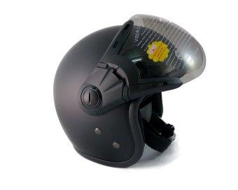 Mũ bảo hiểm có kính GRS A368K (Đen)