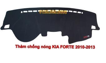 Thảm chống nắng Taplo ô tô Kia Forte đời 2010-2013