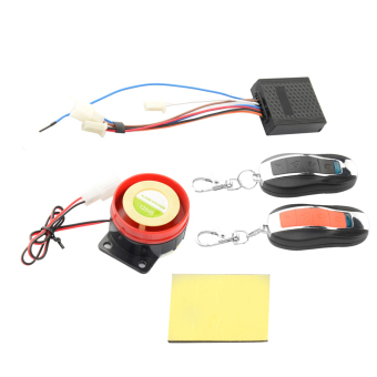 Waterproof Car Motorcycle Anti-theft Security Alarm System Remote Control (Intl)