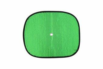 Che nắng xốp tròn nhỏ loại dày BST-11035 36*44cm Auto Quoc Te (Bạc lá)