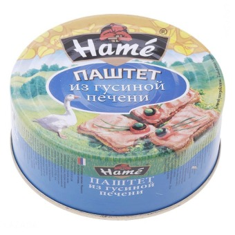 Patê ngỗng Hame 250g