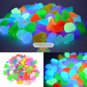 Bộ 100 viên sỏi phát sáng (sỏi dạ quang) chuyên dụng cho bể cá