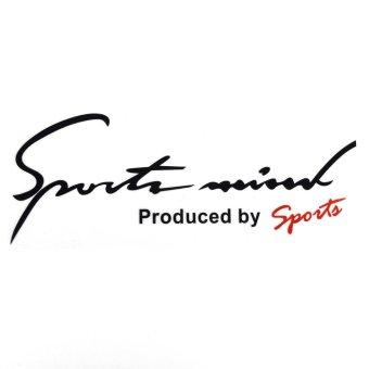 Tem dán Sport mini lên capo ô tô ( Đen )