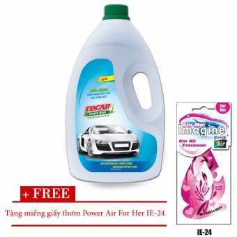 Nước rửa kính ô tô Screen Wash 1,9L + tặng kèm miếng giấy thơm Power Air For Her IE-24