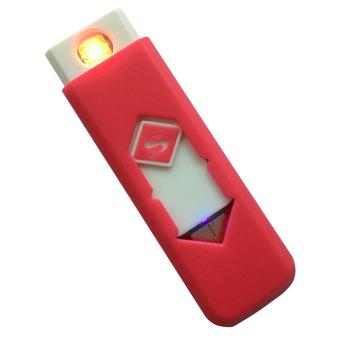 Bật lửa không dùng gas sạc cổng USB F564 (Đỏ)