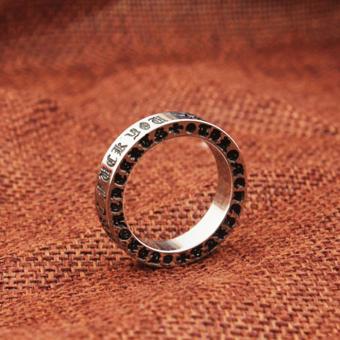 Nhẫn inox thời trang N225 (Bạc)
