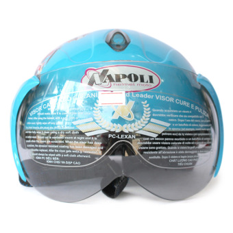 Mũ bảo hiểm trẻ em Napoli 108s (Xanh da trời)