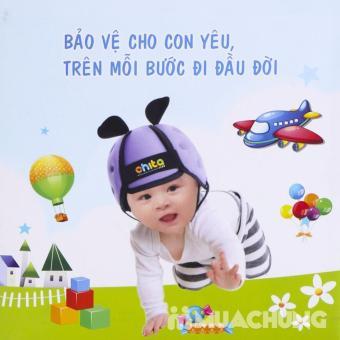 Mũ Bảo Hiểm Tập Đi Cho Bé Chita ( Màu xanh)