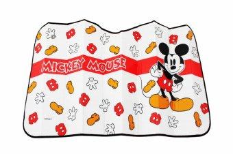 Che nắng xốp trước dài hình NB LX-F039 Mickey mouse 70*130cm Auto Quoc Te