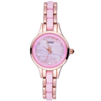 Đồng hồ nữ dây kim loại Kimio 450 (Vàng phối hồng)