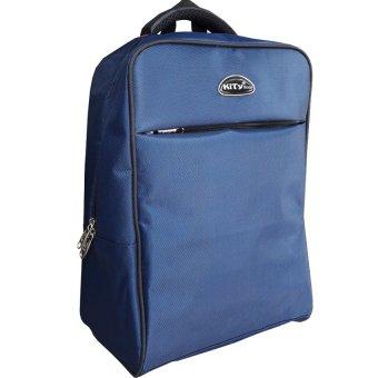 Ba lô vuông đựng laptop KiTy Bags 1169B (Xanh Đen)