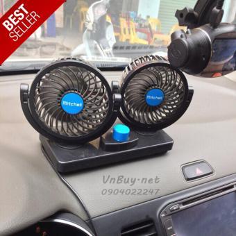 COMBO 2 quạt thông gió dành cho xe ô tô