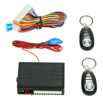 Car Door Lock Keyless Entry System with Trunk Release & Horn Control button Remote Central Locking Kit for VW - intl