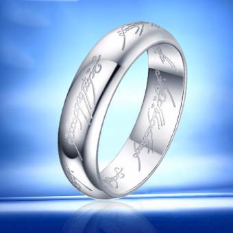 Nhẫn inox Hàn Quốc N265 (Màu bạc)