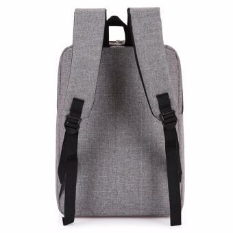 Ba Lô Laptop LAZA BL282 (Xám) - Chính Hãng