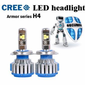 Bộ 2 đèn led trước cho xe hơi/ ô tô LED T1 (CL-600 sáng trắng)