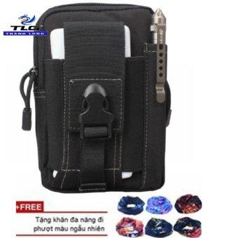Túi Đeo Hông Cao Cấp +Tặng Khăn Phượt Đa Năng TL8057-311A