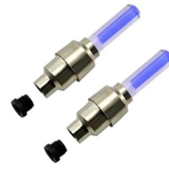 Bộ 2 đèn LED Gắn Van Xe Máy-Xe Đạp-OTo