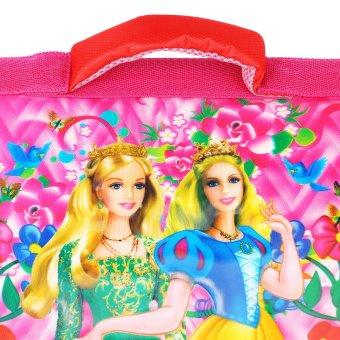 Cặp học sinh đeo vai in hình 3D nổi siêu nhẹ CA126 hồng
