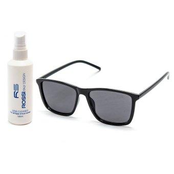 Bộ 1 kính mát và chai nước lau kính MKH 9017(đen)