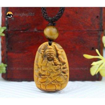 Dây chuyền phong thủy Phật bản mệnh Phật Thiên Thủ Thiên Nhãn Mắt hổ