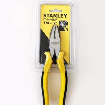 Kìm điện tổ hợp Stanley 84-035 18cm (Vàng phối đen)