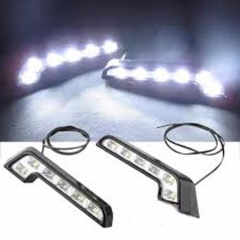 Đèn led DRL chữ L nổi bật khi đi ban đêm cho xe hơi