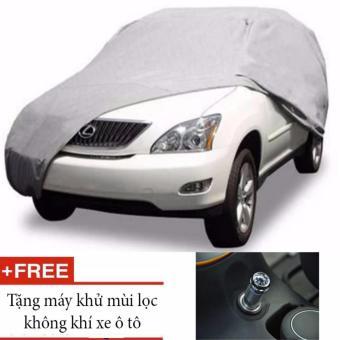 Bạt trùm xe 7 chỗ phù hợp mọi dòng xe + tặng Máy khử mùi lọc không khí thông minh
