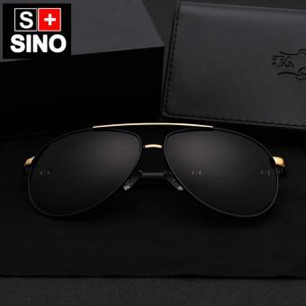 Kính mát nam Sino S8000B (đen)