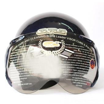 Mũ bảo hiểm có kính GRS A33 (Xanh tím than)