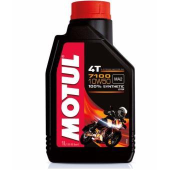 Nhớt tổng hợp Motul 7100 10W50 4T 1L