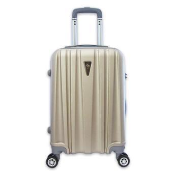 Vali nhựa nhám siêu nhẹ khóa TSA size trung đựng 20Kg Champagne TA279
