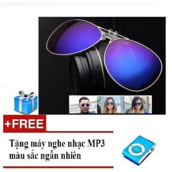 Mắt kính nam - nữ tráng gương + Tặng máy nghe nhạc Mp3