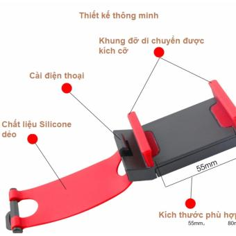 Kẹp điện thoại trên Vô lăng ô tô