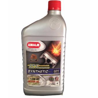 Bộ 2 dầu nhớt bán tổng hợp Amalie Pro High Synthetic Blend 10W-40 946ml