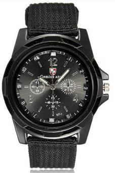 Đồng hồ nam dây dù Army AMY-7010-01 (Đen)