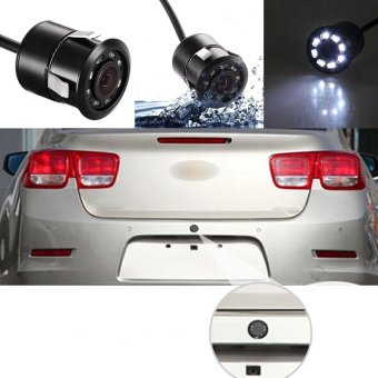 Waterproof 170° CMOS 8 LED Car Rear View Backup Parking Camera HD Night Vision - intl