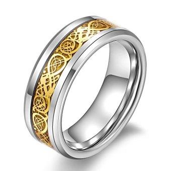 Nhẫn hoa văn rồng Vàng