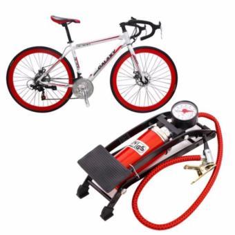 Bơm hơi đạp chân mini ô tô, xe máy , xe đạp cao cấp