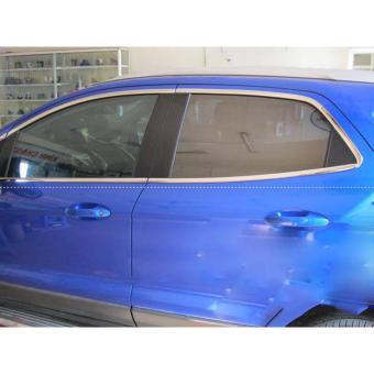Nẹp viền kính xe hơi cao cấp ( Bạc- 3cm)
