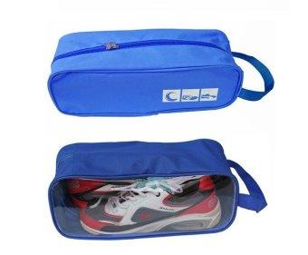 Bộ 2 túi đựng giày du lịch Family Plaza(Xanh dương)
