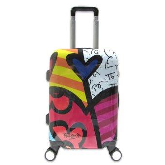 Vali du lịch nhựa hình thời trang Colors Of Life size nhỏ đựng 7Kg TA0025