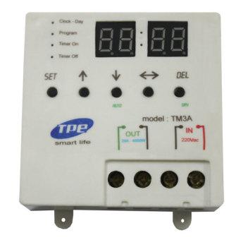 Công tắc hẹn giờ kỹ thuật số TPE TM3A
