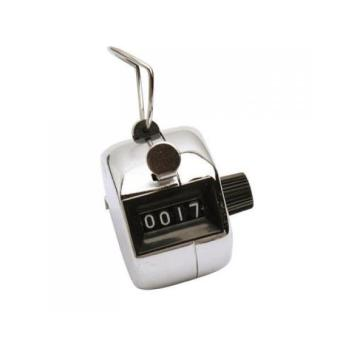 BolehDeals 4 Digits Hand Held Tally Counter Numbers Clicker - Intl