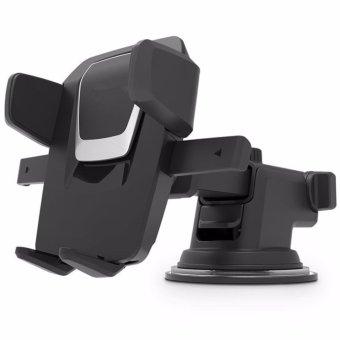 Giá giữ điện thoại hít kính trên ô tô Loại cao cấp Long Neck One-Touch Car Mount H176(Đen)