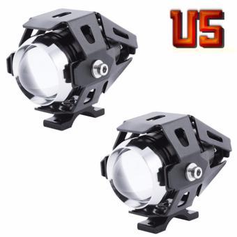 Bộ 2 đèn Led trợ sáng U5 cho mô tô xe máy