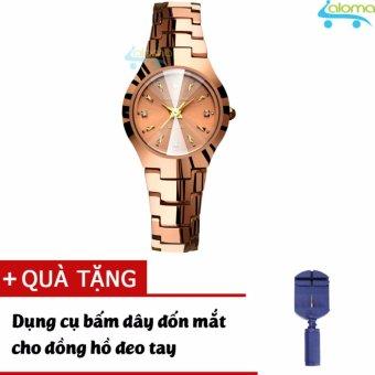 Đồng hồ nữ cao cấp chống nước đường kính 25mm R-ontheedge tặng dụng cụ cắt dây